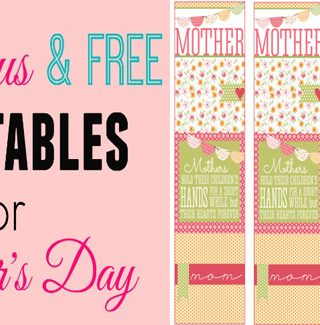 Make Mother's Day Fabulous with {Free Printables}!