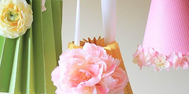 DIY Paper lampshades - Design Dazzle