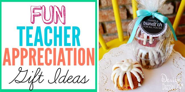 fun teacher appreciation gift ideas
