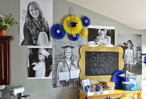 Such awesome graduation party ideas!
