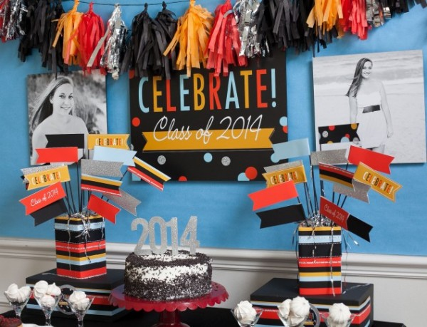 There are some gorgeous graduation party ideas here!