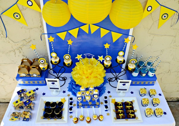 These graduation party ideas are perfection!