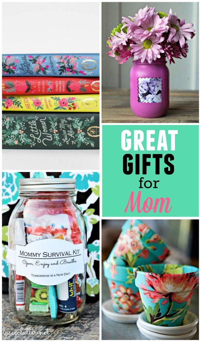 Show her how much you care with these GREAT Mother's Day gifts for Mom!