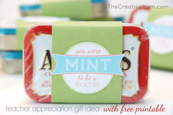 Cute and easy teacher appreciation gift idea!
