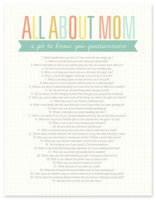 all about mom quiz
