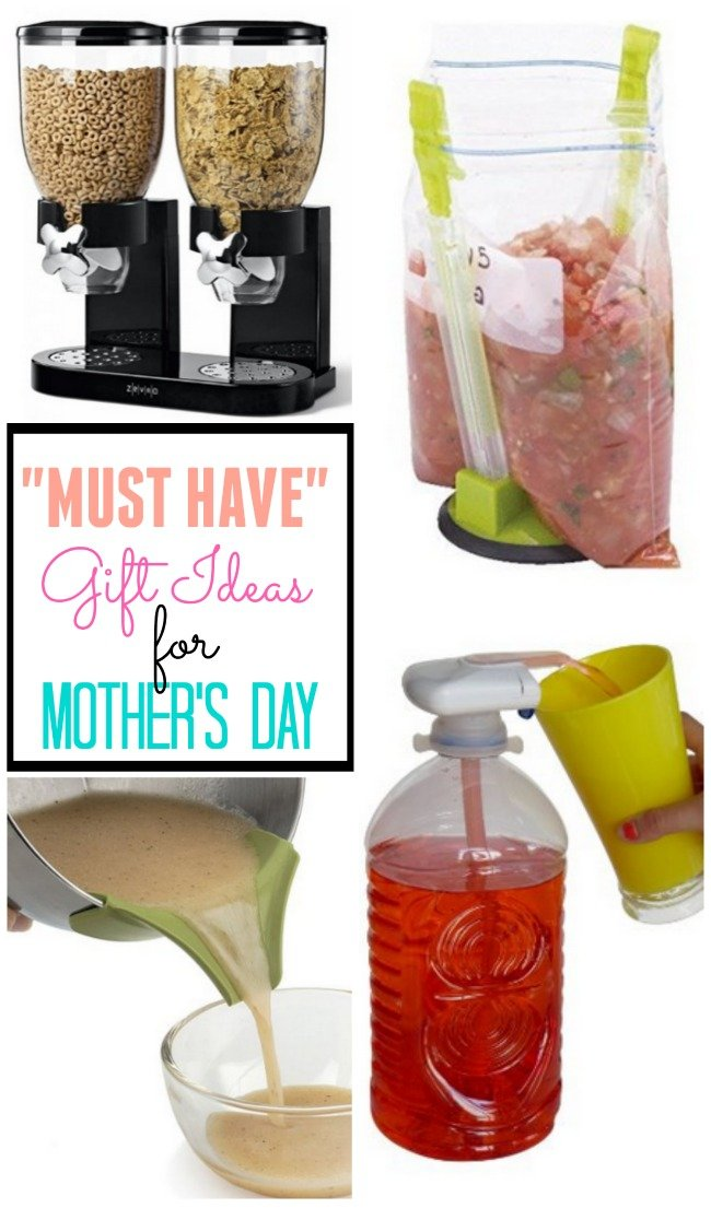 "Great collection of awesome ""must have"" gift ideas for Mom this Mother's Dau"