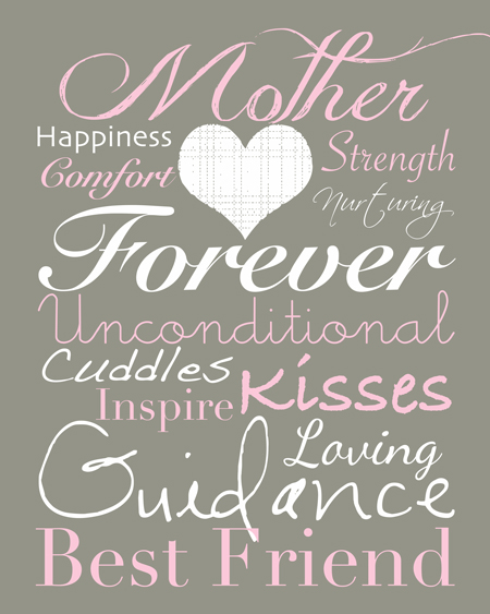 sweer mother's day printable quote
