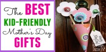 the best kid-friendly mothers day gifts