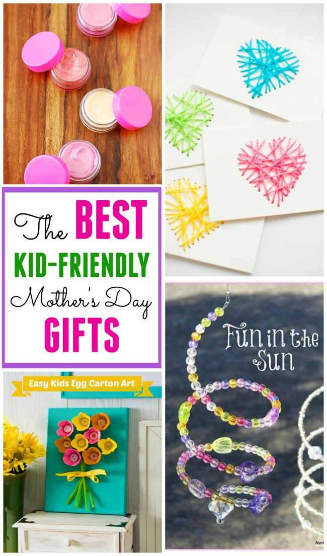 12+ of the BEST Kid-Friendly Mother's Day gifts