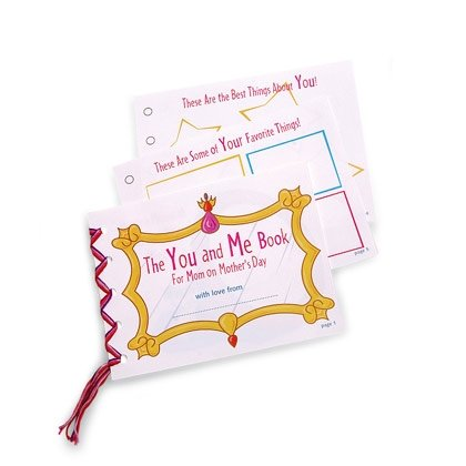 you and me mother's day booklet