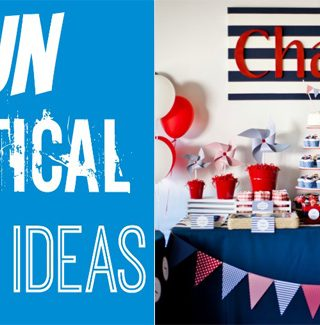 12+ Nautical Party Ideas For Boys