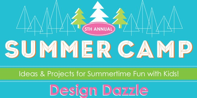 design dazzle summer camp 2015 banner