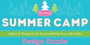 design dazzle summer camp 2015 banner
