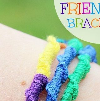 Chinese Ladder Friendship Bracelet