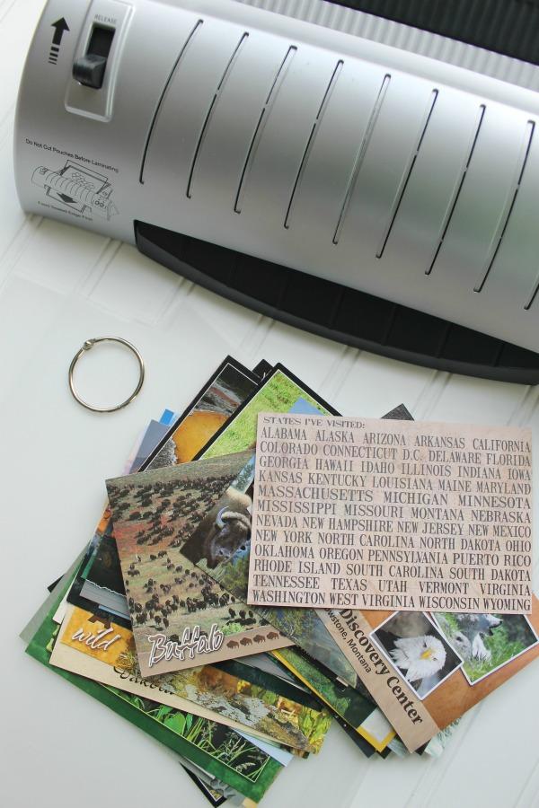 Design Dazzle postcard book supplies