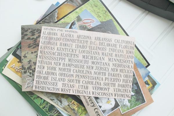 Design Dazzle postcard crafts