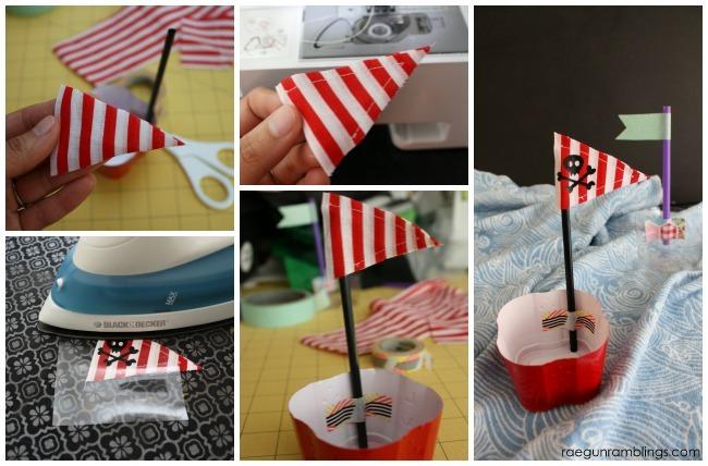 Super darling DIY pirate ships the kids can make