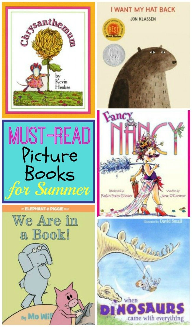 Must-read picture books for Summer. These are tried and tested kids favorites!