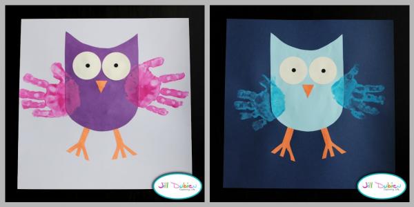 handprint owls