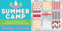 Summer Matching Game from Kiki & Company