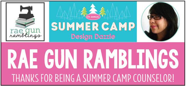 Rae Gun Ramblings Design Dazzle Summer Camp Guest Blogger