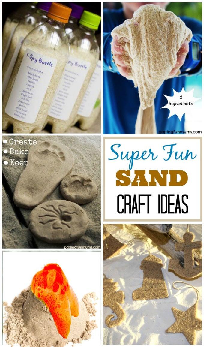 Super fun sand craft ideas 1