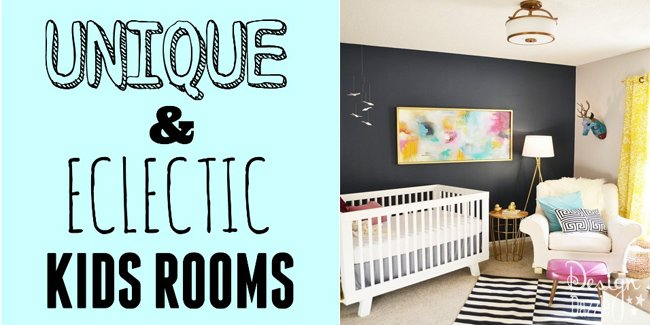 unique and eclectic kids rooms
