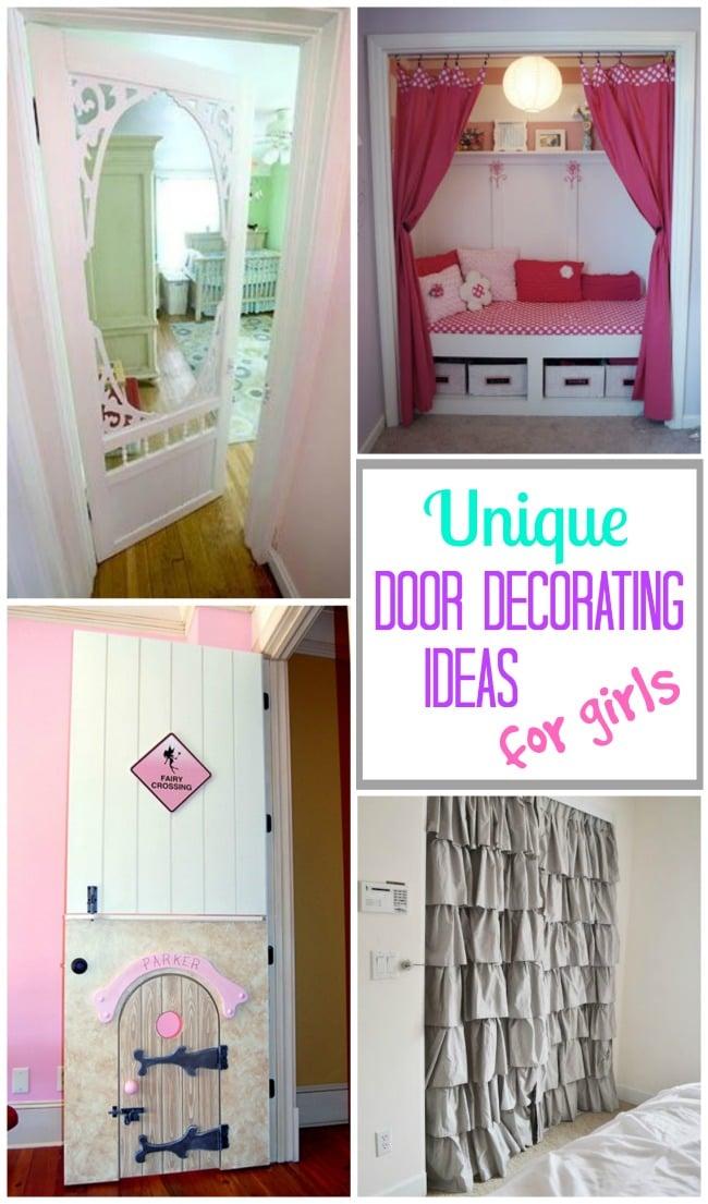 10+ Amazingly Cool Bedroom Door Decoration Ideas For Girls Rooms!