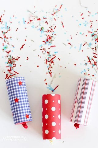 4th of July Confetti Poppers!