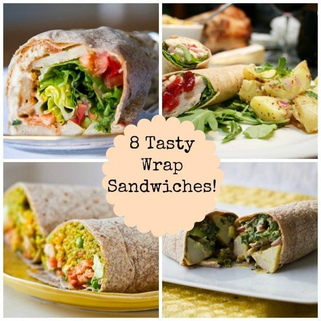 8 yummy wrap recipes