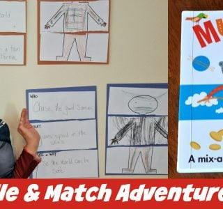 DIY Muddle and Match Adventure Stories
