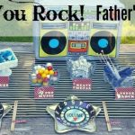 Dad, You Rock! Father's Day Table + Free Printables