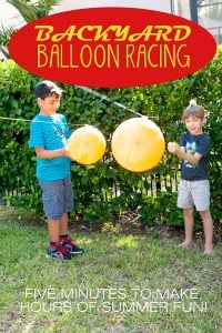 Balloon races | Summer Camp on Design Dazzle