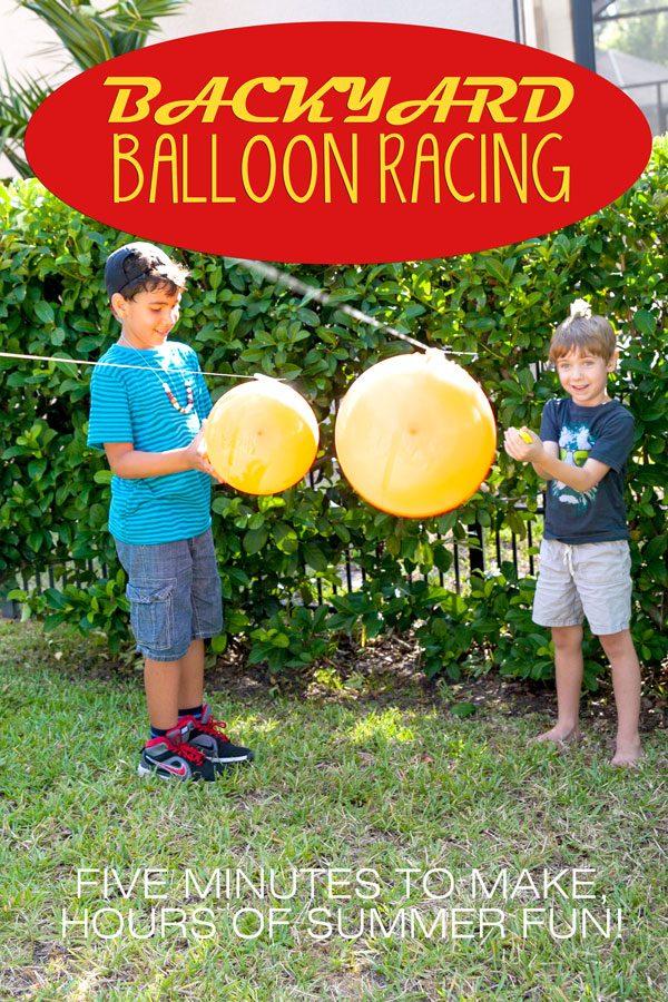 Balloon races   Summer Camp on Design Dazzle