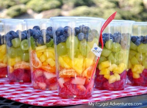 how to make a fruit salad healthy fruit snacks for kids