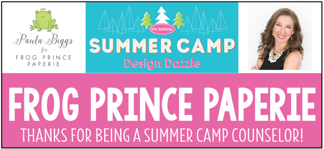 Frog Prince Paperie at Design Dazzle Summer Camp