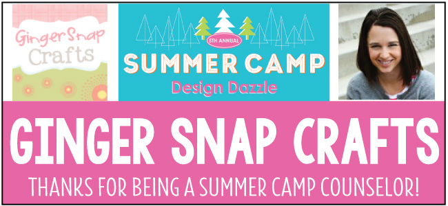 Ginger Snap Crafts camp counselor for Design Dazzle summer camp