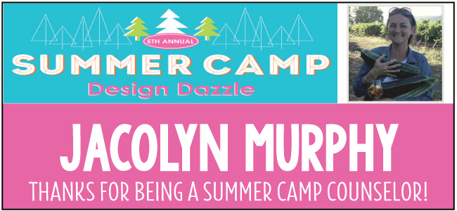 Jacolyn Murphy - guest blogger for Design Dazzle Summer Camp