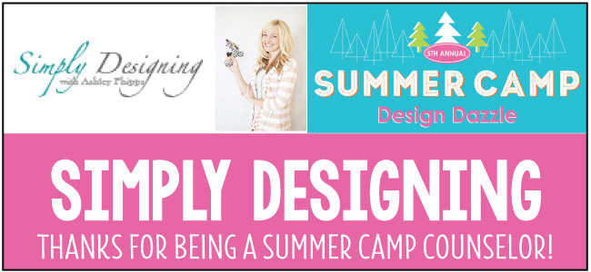 Simply Designing - Design Dazzle Summer Camp guest blogger