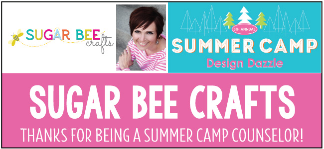 Sugar Bee Crafts camp counselor for Design Dazzle Summer Camp