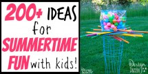 200 ideas for summer fun with kids