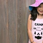 Camp Cutie Patootie T-Shirt Made On The Cricut Explore