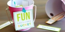 Fun in a Bucket Free Printable