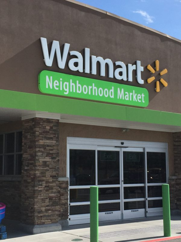 Neighborhood Walmart to the rescue!