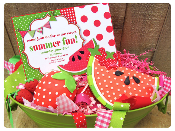 summer fun watermelon party with adorable printables