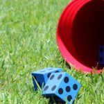 Yard Yahtzee Summer Camp Fun