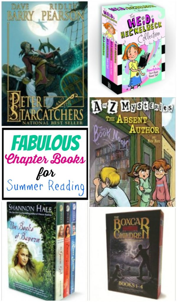 Fabulous chapter books for summer reading | Design Dazzle