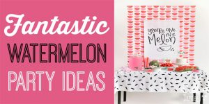 fantastic watermelon party ideas