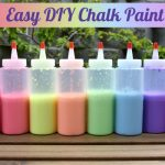 DIY Chalk Paint for Outdoor Fun