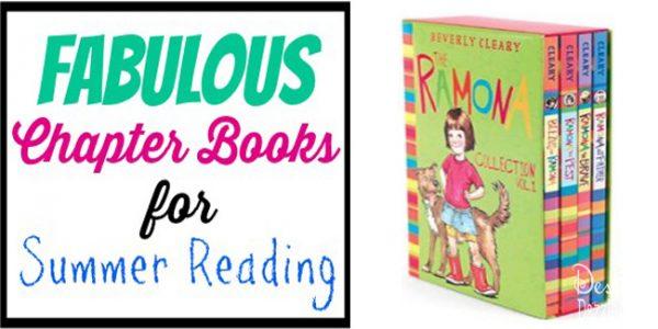fabulous chapter books for summer reading